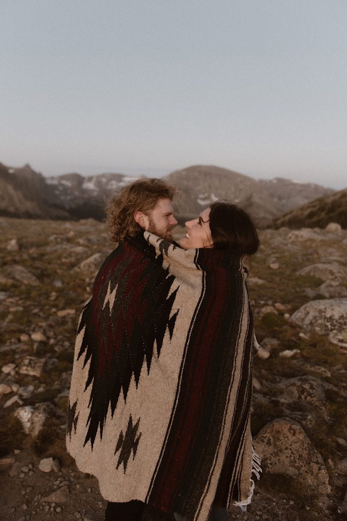Rocky Moutain National Park Engagement photos by Ashley Joyce Photography-2