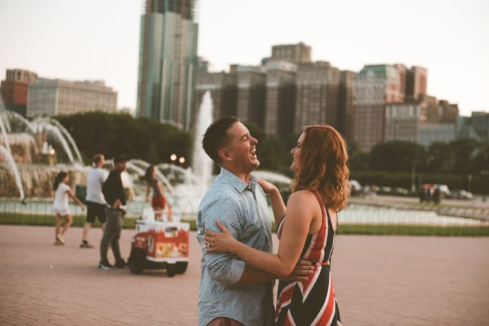 Chicago engagement, Ashley Joyce Photography