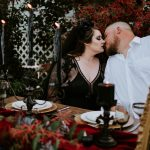 Halloween Themed Wedding // Cardwell Manor – Tennessee
