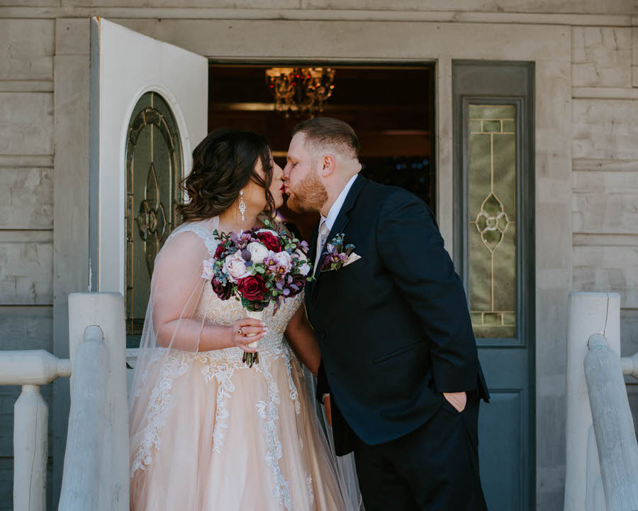 Smoky Mountain Wedding by Ashley Leffew Photography Gatlinburg Photographer Small Intimate Wedding Mountain Wedding