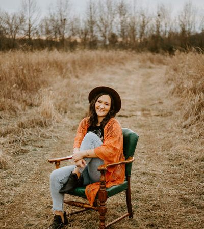 Fall portrait session at Knoxville Tennessee by Ashley Leffew Photography
