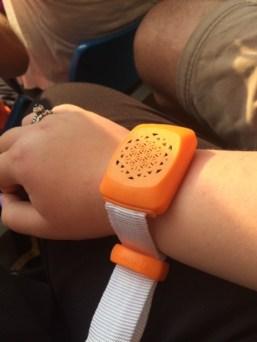 My fancy wristband