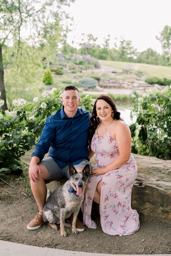 Engagement photography at Cox Arboretum by Ashley Lynn Photography