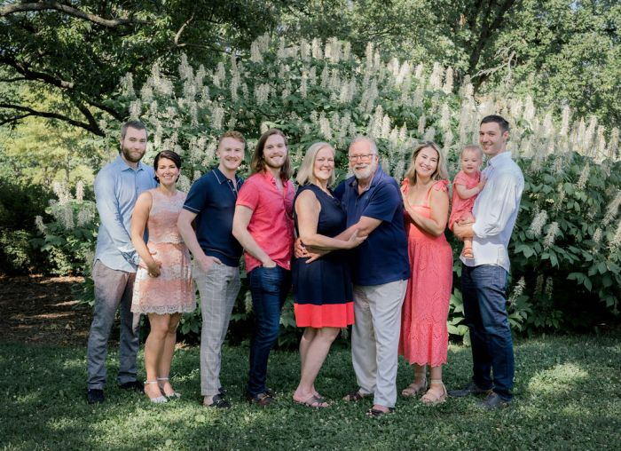 Family Portrait Session at Cox Arboretum in Dayton, Ohio