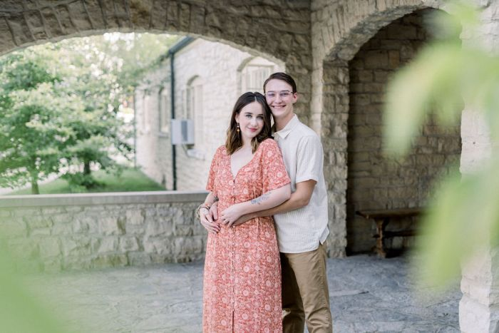 Engagement Photos in Yellow Springs, Ohio