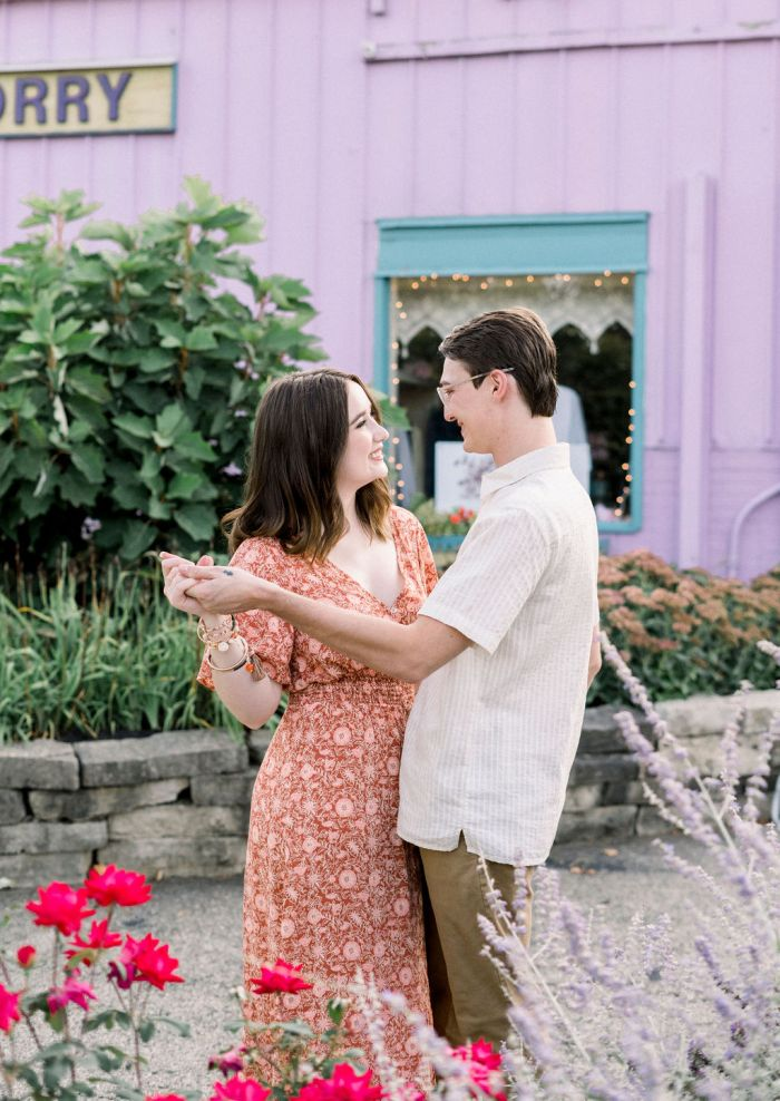 Yellow Springs, Ohio Engagement Photography