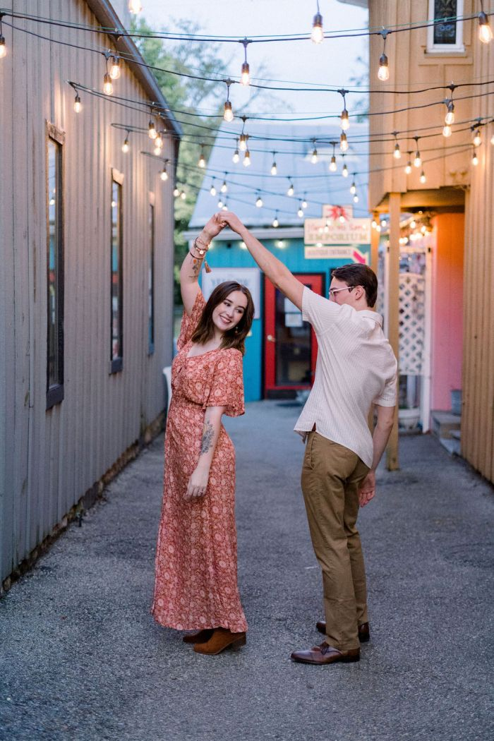 Urban Engagement Photo Session in Yellow Springs