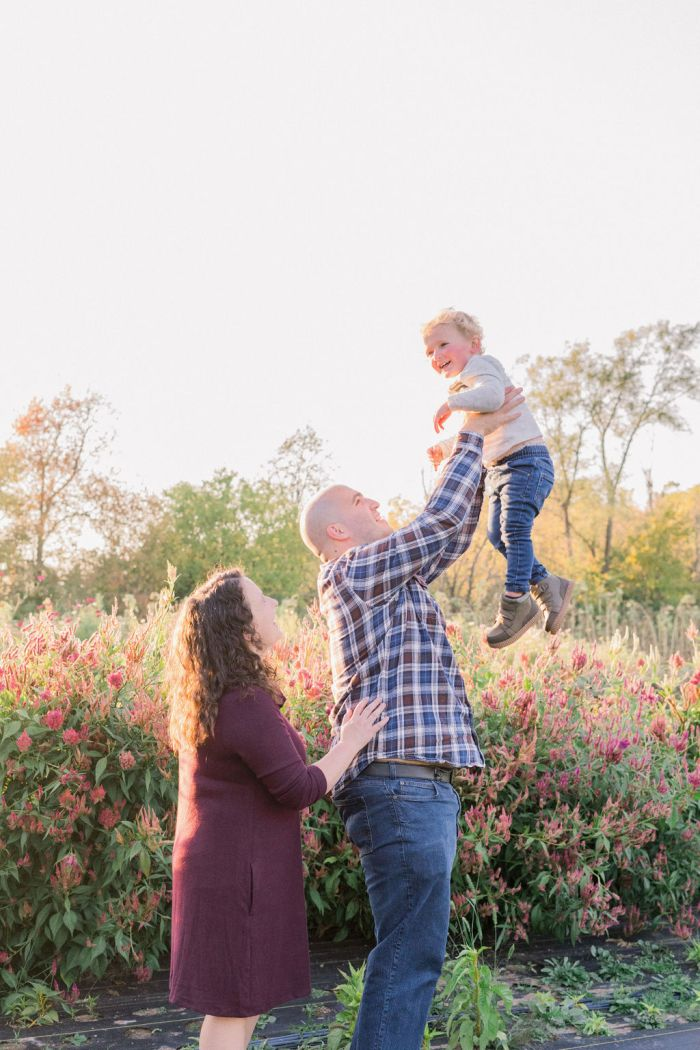 Family Portrait Session at The Ohio Barn
