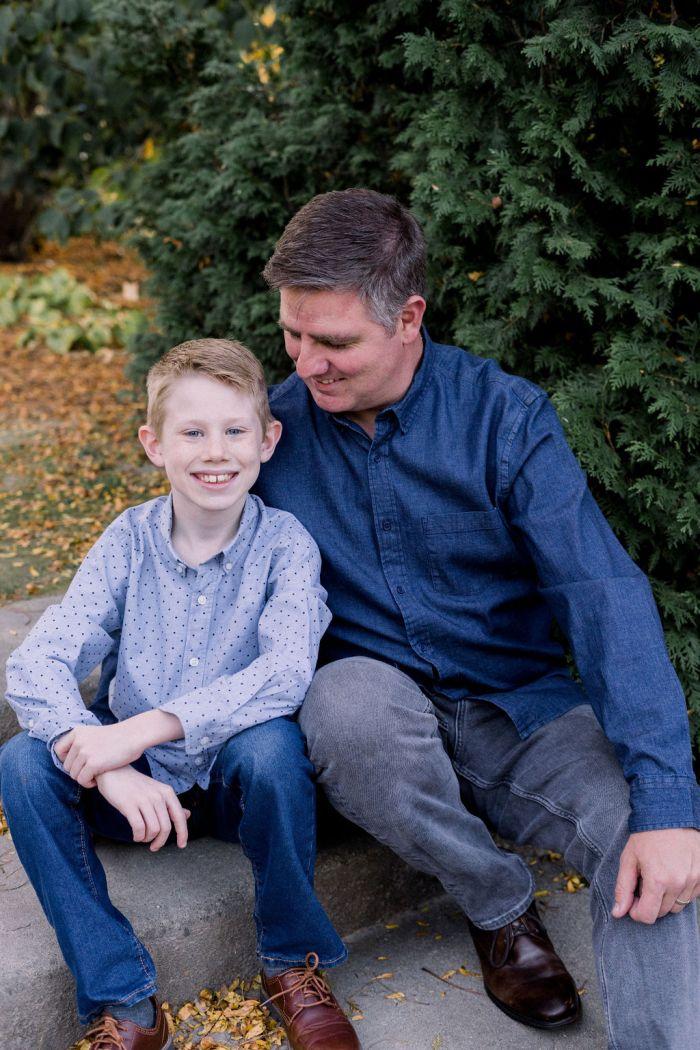 Family Photo Session at Wegerzyn Gardens