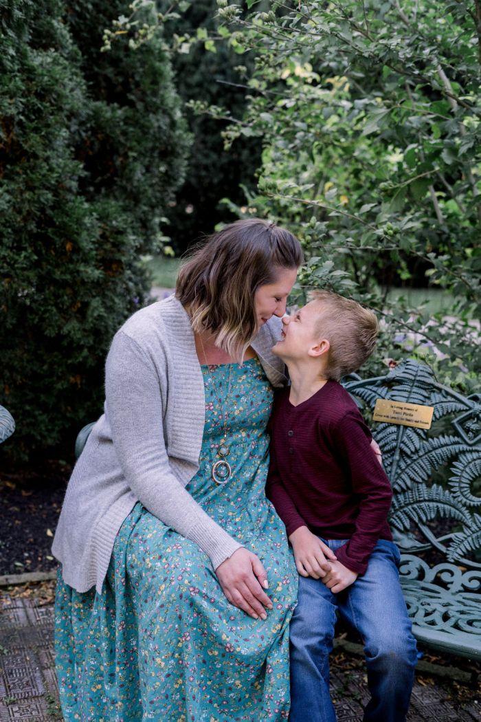 Wegerzyn Garden Family Photography