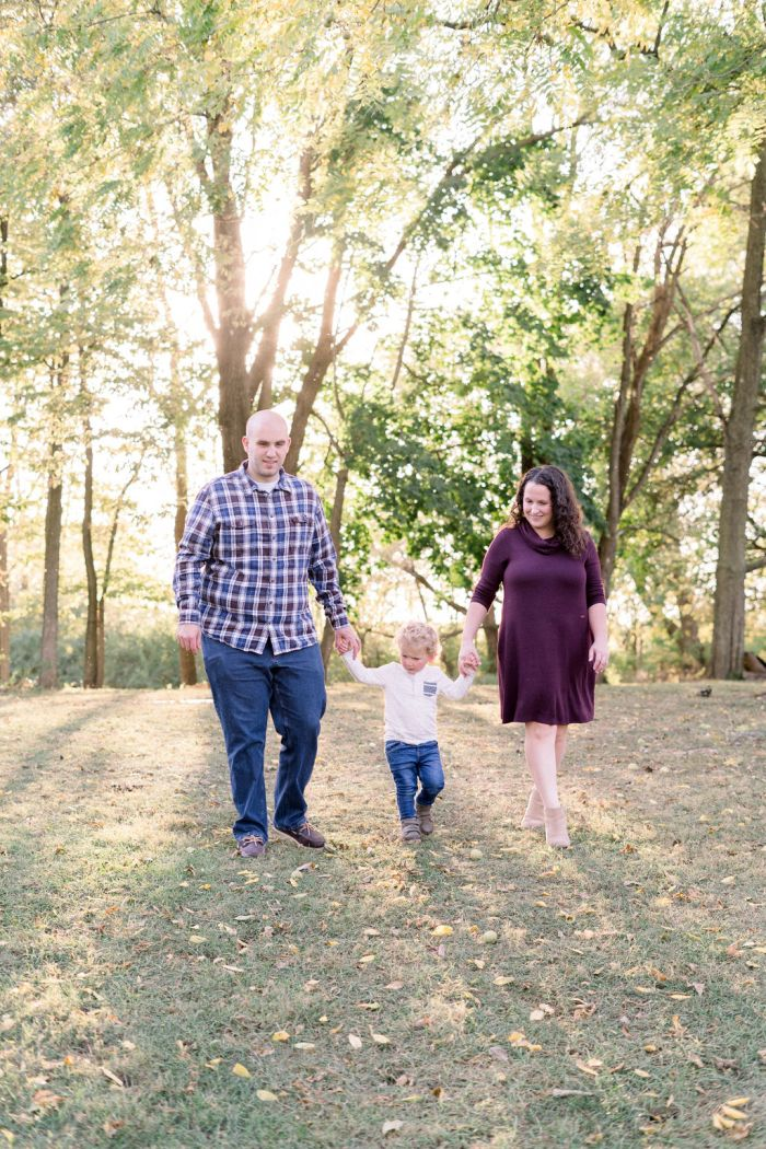 Outdoor Family Photography at The Ohio Barn