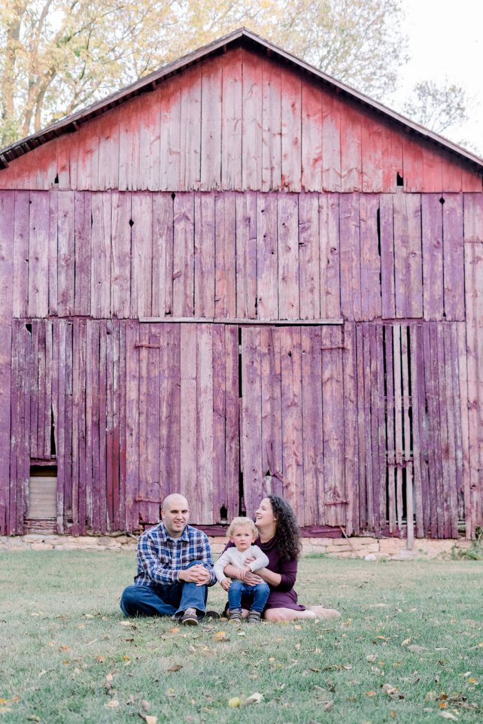 Family Photography at The Ohio Barn