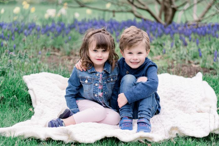 Outdoor Family Photography at Wegerzyn Gardens