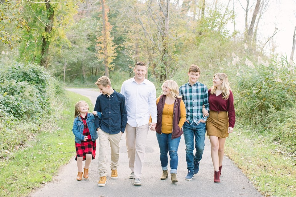 Family portrait session with Ashley Mac Photographs in New Jersey
