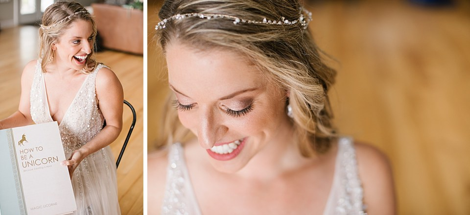 vintage inspired bridal look with Ashley Mac Photographs