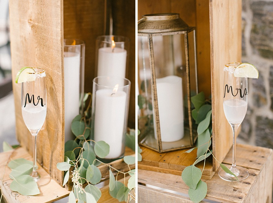 Ashley Mac Photographs photographs bride and groom's glasses