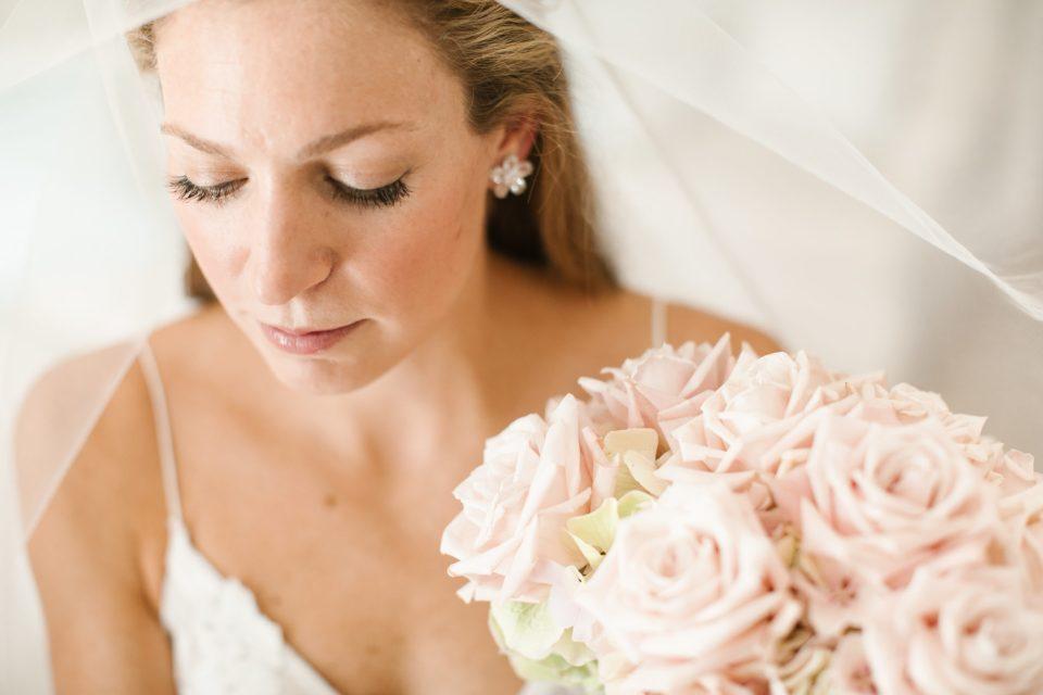 classic bridal portrait photographed by NY wedding photographer Ashley Mac Photographs