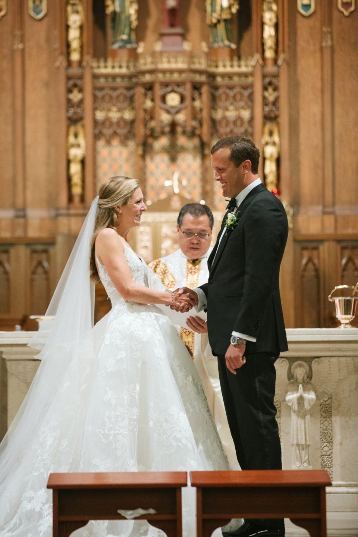 Ashley Mac Photographs church wedding in New York