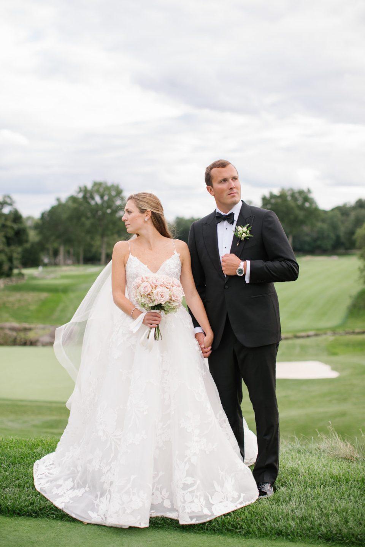 Apawamis Club golf course wedding photos by Ashley Mac Photographs