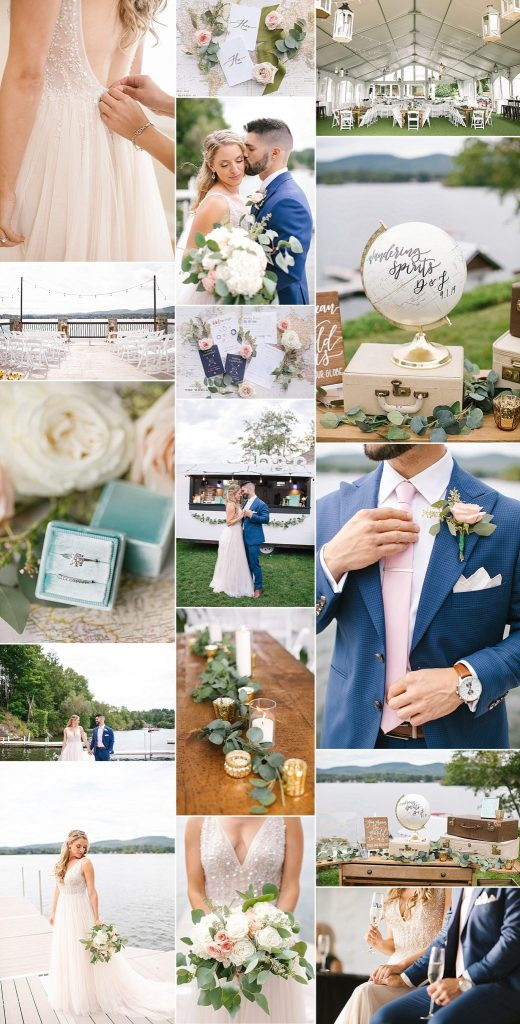 Lake House wedding day in the Berkshires by Ashley Mac Photographs