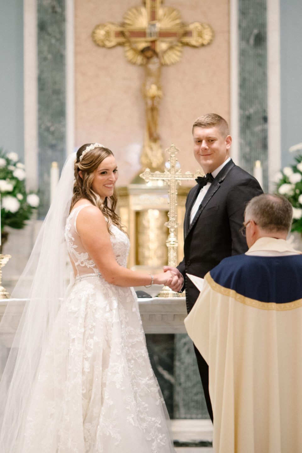 Nativity Church wedding ceremony photographed by Ashley Mac Photographs