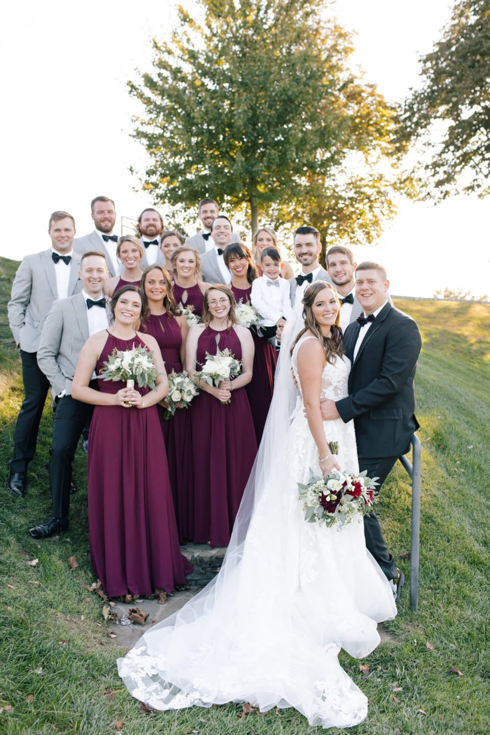 Ashley Mac Photographs captures bridal party in NJ