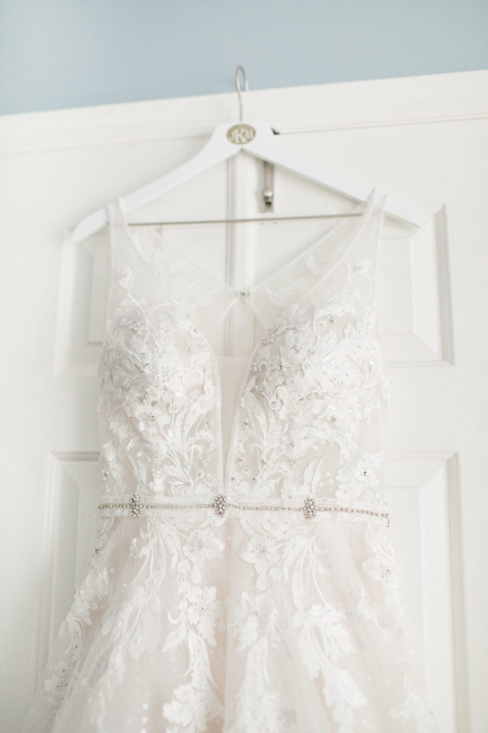 wedding gown photographed by Ashley Mac Photographs