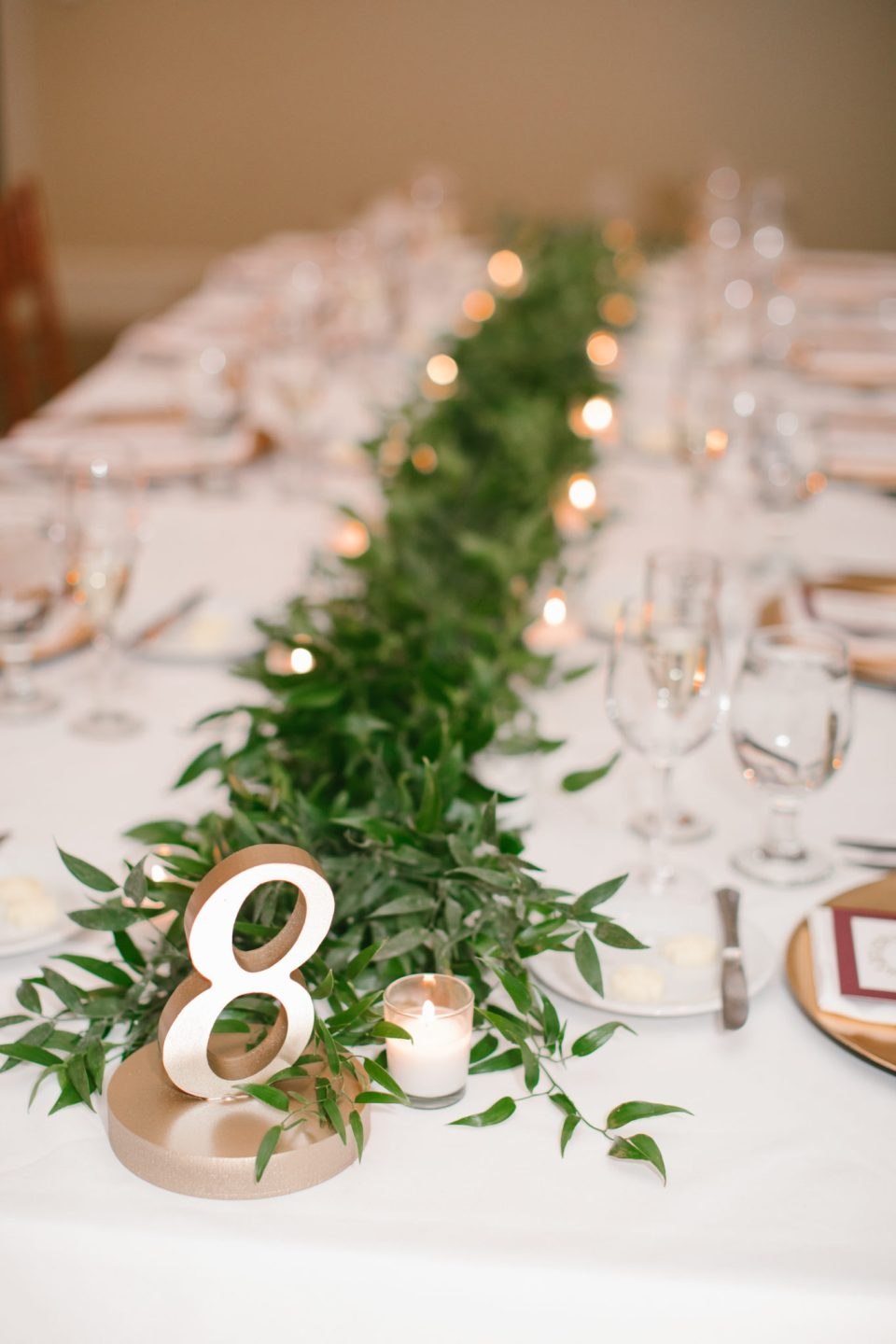 wedding reception details at Navesink Country Club photographed by Ashley Mac Photographs