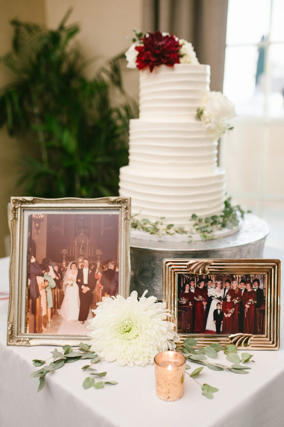wedding reception details with Ashley Mac Photographs