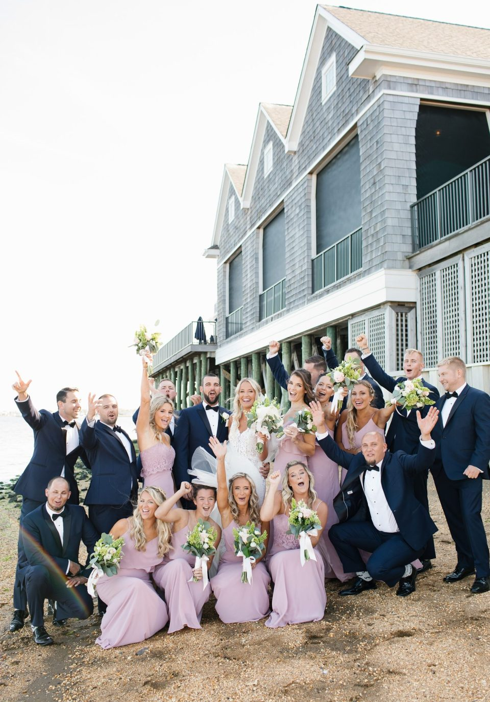 Rumson Country Club Riverhouse wedding photos with Ashley Mac Photographs