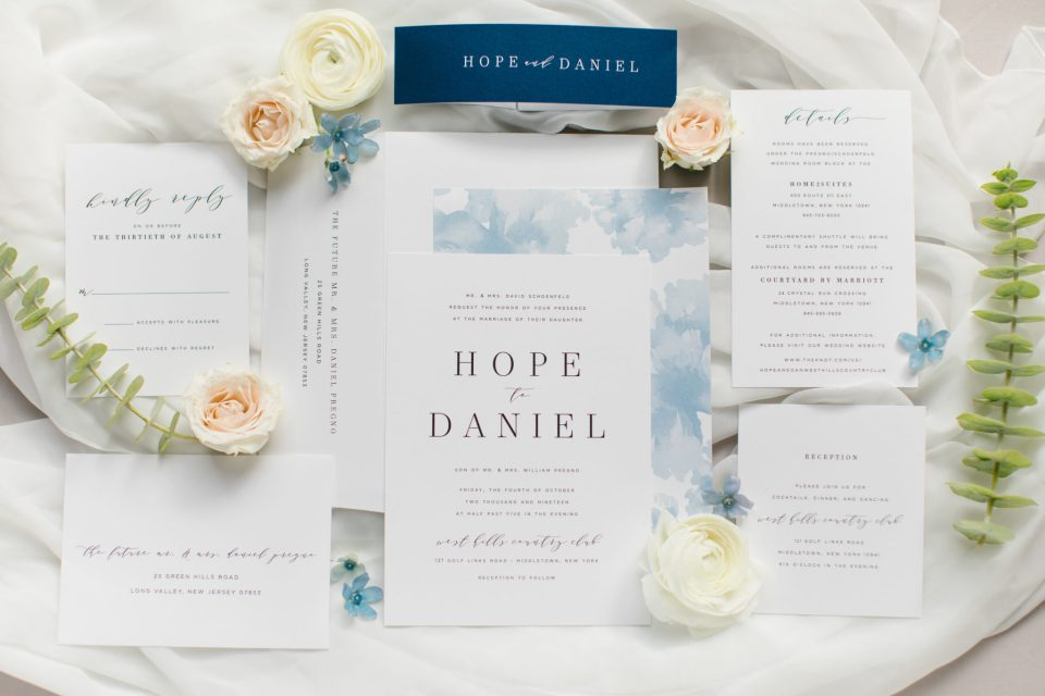 wedding invitations by Shine Wedding invitations photographed by Ashley Mac Photographs