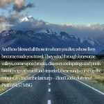 On the Road: My Journey Through Psalms 84-85