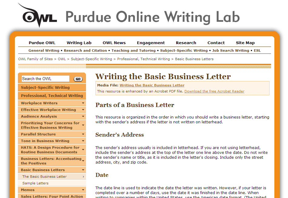 GLPLS | Library Resources | Purdue OWL Writing Lab