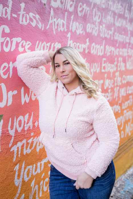 PL pink hoodie