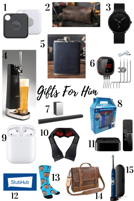 Gifts for Him Gift Guide
