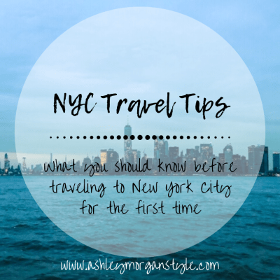 NYC Travel Tips: What You Should Know