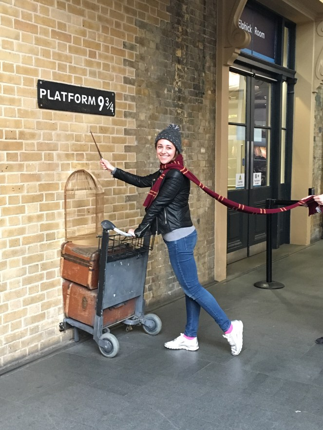 things to do in London- Harry Potter platform 9 3/4