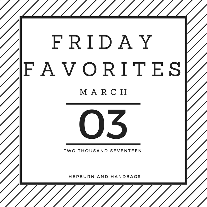 Friday Favorites | Hepburn and Handbags