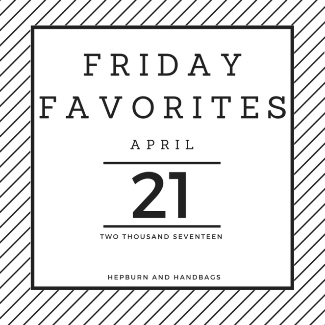 Friday Favorites Hepburn and Handbags