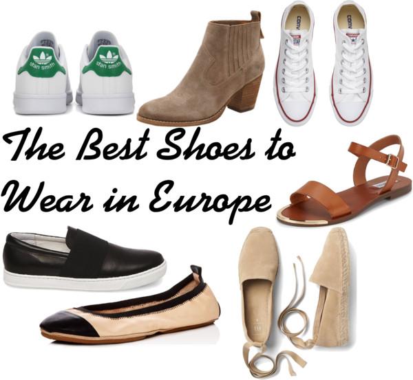 best shoes to wear in Europe
