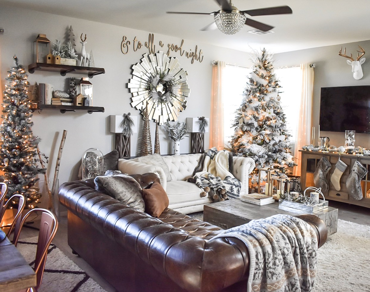 Ashley Nicole Interiors Christmas Decor