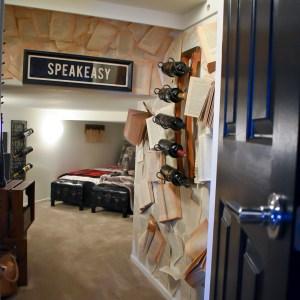 Ashley Nicole Interiors Speakeasy Guest Room