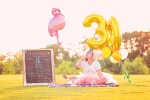 30th cake smash photo session
