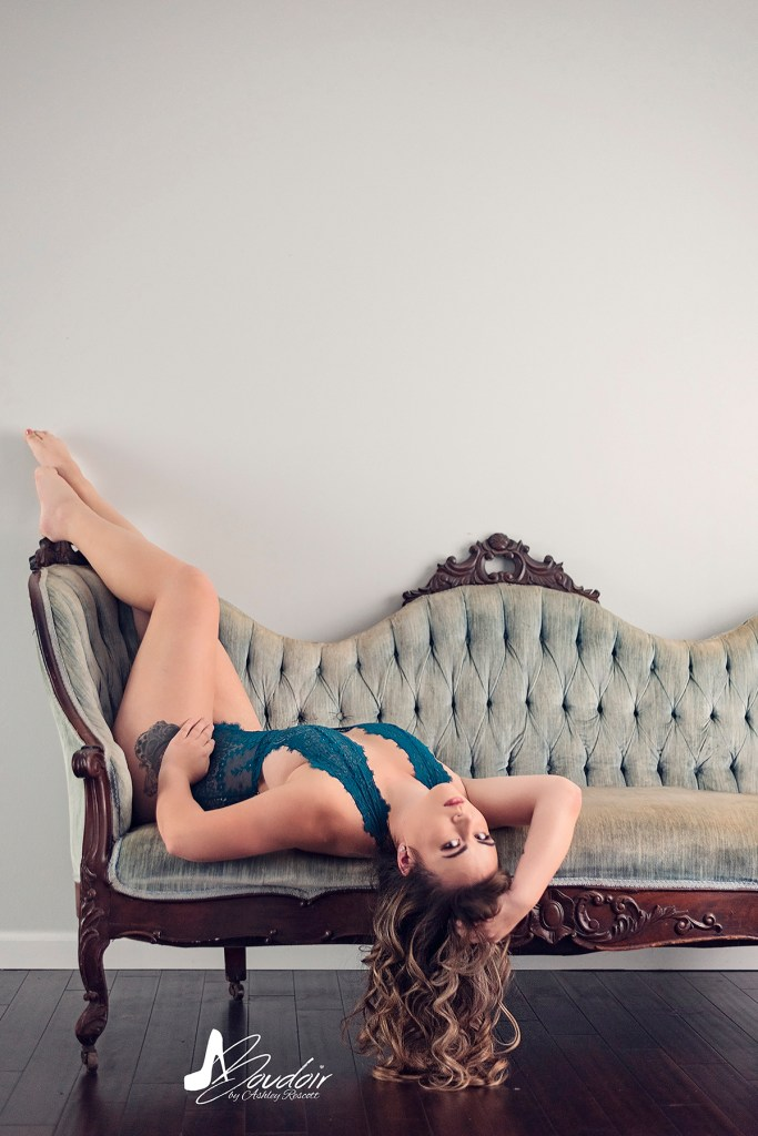 natural light boudoir image in sitting room set for portfolio purposes