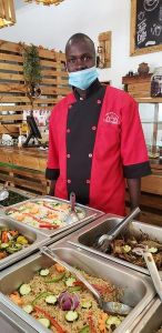 Ashleys Events Catering department