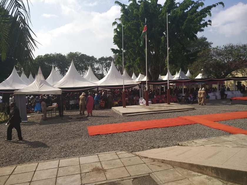 Presidential Event at PCs office Nakuru