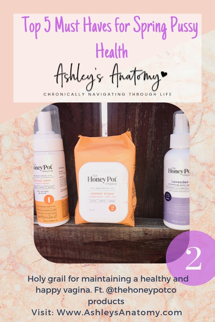 Top 5 Must Haves for Spring Pussy Health