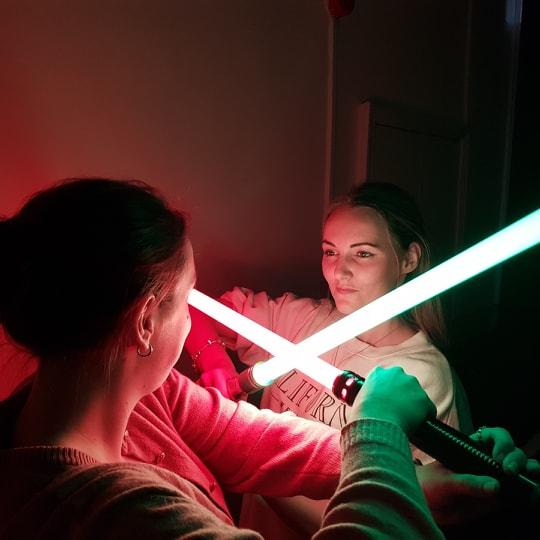 Jedi Training for Star Wars Day