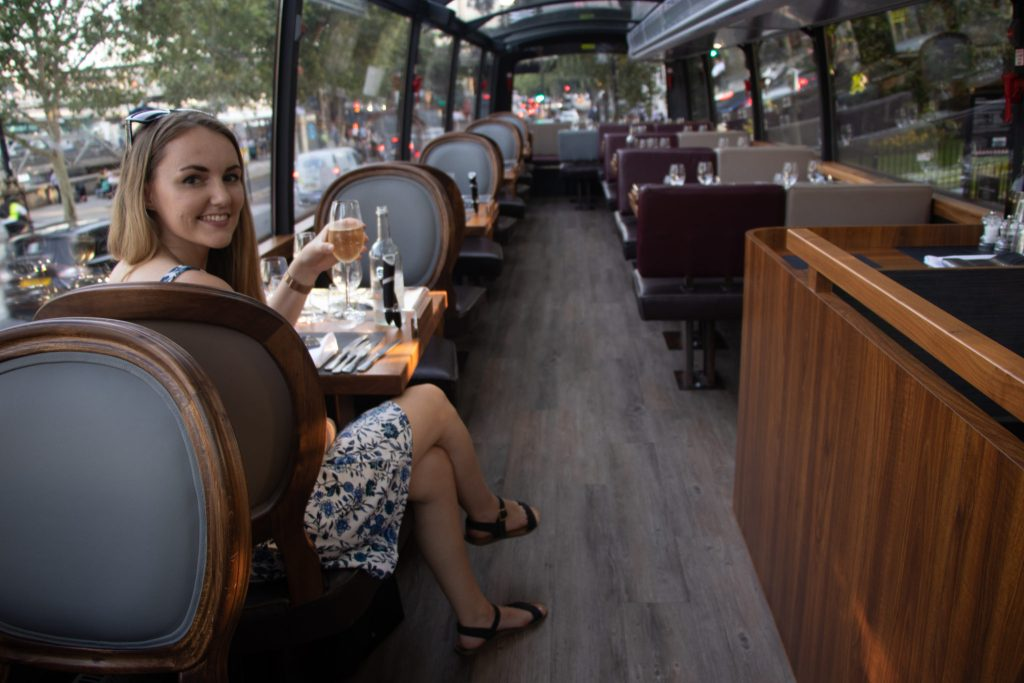 Fine Dining & Sightseeing with Bustronome