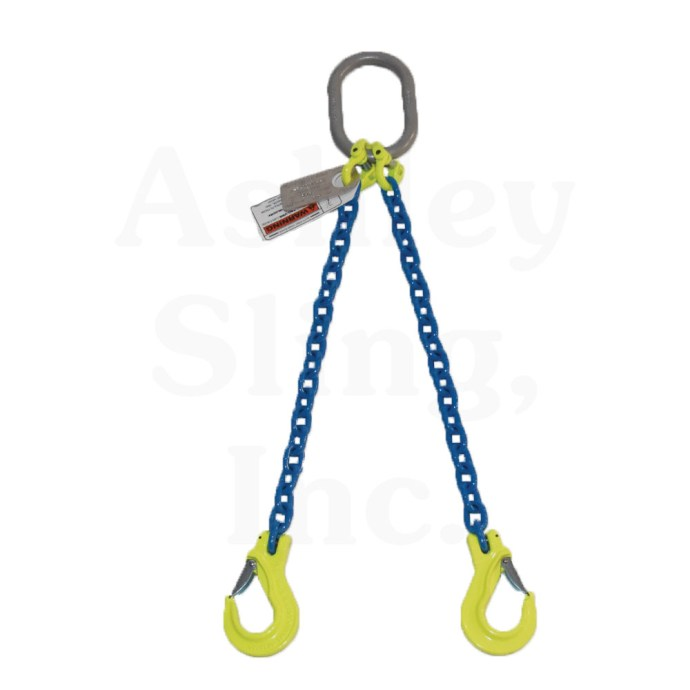2 Leg Alloy Chain Sling